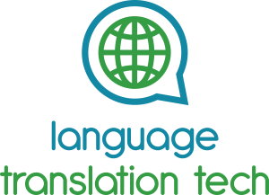 Language Translation Tech Logo Full